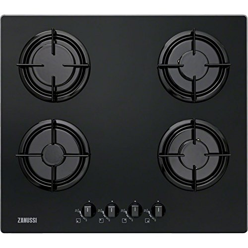 Zanussi zgo65414ba – Plate (Built-in, Gas, Black, Rotary, Top Front, 230 V)