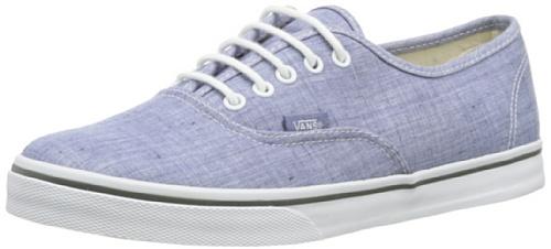 Vans U AUTHENTIC LO PRO (CHAMBRAY) BLUE VT9NATX Unisex-Erwachsene Sneaker Blau ((Chambray) blue)