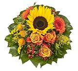 Amazon.de Pflanzenservice Blumenstrauß'Sonnenlicht' mit einer Sonnenblume