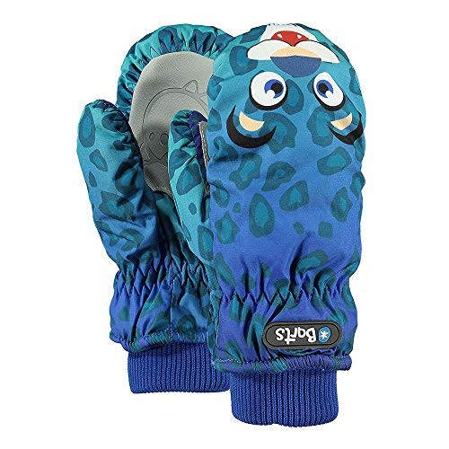 Barts Unisex Baby Handschuhe Nylon Mitts, Blau (Leopard Blu 42), One Size | 08717457414114