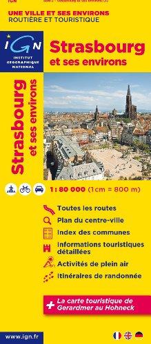 88412 Strasbourg et Ses Environs 1/80.000
