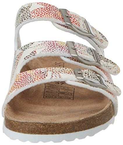 Softwaves 274 543, Mules Femme Mehrfarbig (WHITE)