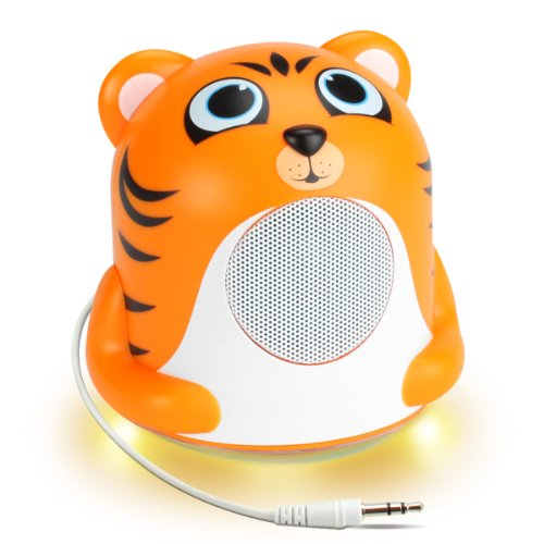 light-music-stereo-speaker-with-cute-tiger-animal-character-for-kids-toddlers-babies-works-with-mobi