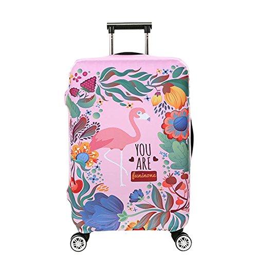 Deylaying 18-32 Inch Lavabile Personalizzata Viaggio Stampato Bagaglio Copertina Spandex Valigia Protettore Borsa Zipper