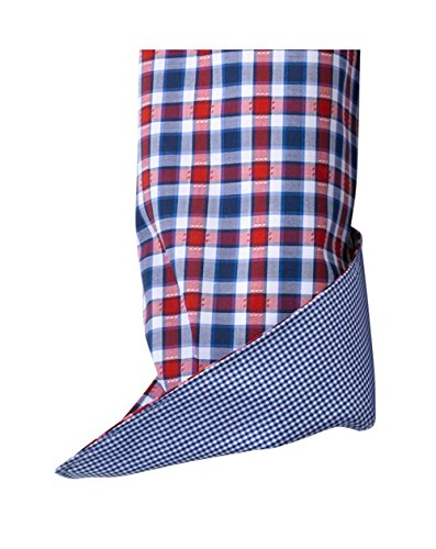 Olymp Hemd Luxor, Trachtenhemd, modern fit, blau/rot/grau kariert rot/blau/weiss
