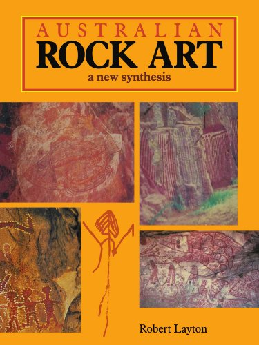 Australian Rock Art Paperback por Layton