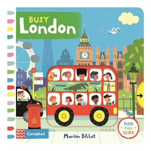 Busy London (Busy Books) por Marion Billet