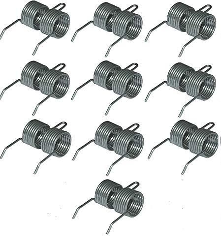 Atco Qualcast Genuine &Ersatz-Krallen/Zinken, 10 Stück (in Klammern), für Atco Qualcast &Grubber, Bosch Produktnummer 2607336241/2607336242/F016T47920 STANLEY Bandmaß w Key Cadbury Schokoriegel -