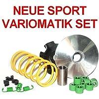 Unbranded 60 CCM Sport Racing Zylinder KIT Set KOMPLETT f/ür TGB 203 Bullet WIKING Laser 50 Zylinderkit