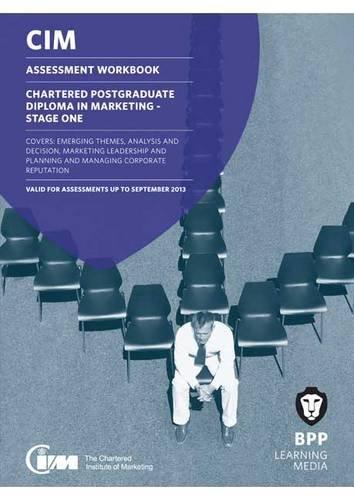 CIM Postgraduate Diploma Level: Assessment Workbook