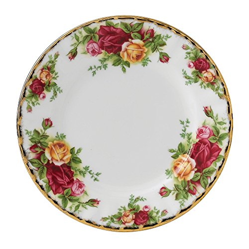 Old Country Roses Tee-set (Old Country Roses by Royal Albert Teller 16 cm)