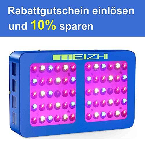MEIZHI 300W 450W 600W 900W 1200W LED Grow Light Reflector LED Pflanzenlampe Full Spectrum mit Daisy Chain Wachsen Licht Vollspektrum für Zimmerpflanzen Gemüse und Blumen (300W) China Daisy Chain