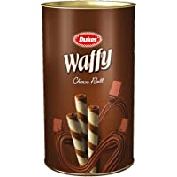 Dukes Waffy Rolls Tin - Chocolate, 300 g
