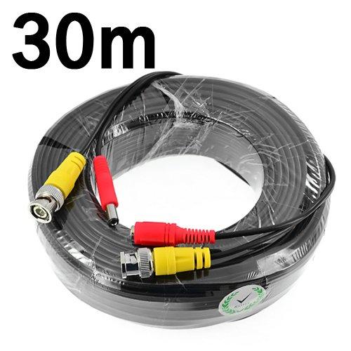 BNC-Video-Stromkabel (für CCTV-Kamera / DVR-Sicherheitssystem) - Digital Extension Card
