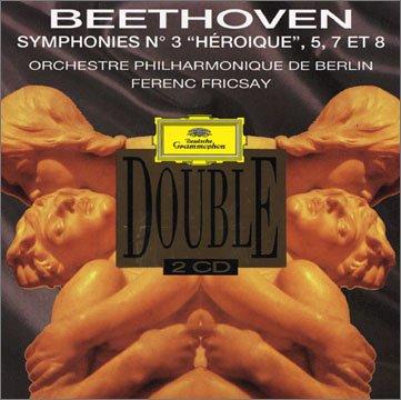 """Beethoven : Symphonies n° 3 """"Héroïque"""", n° 5, n° 7 d'occasion  Livré partout en Belgique"""