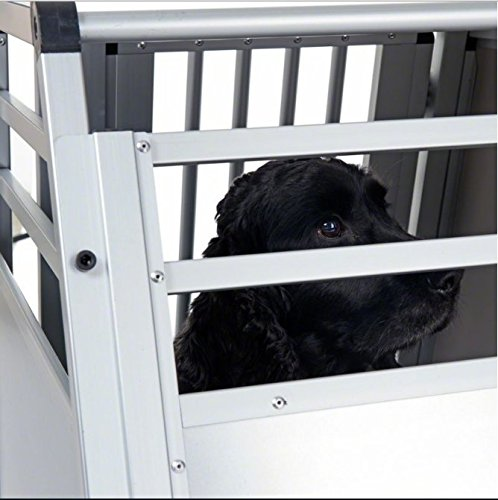 Aluline Robust and Lightweight Double Dog Crate - Safe and Comfortable Way to Transport Larger Dogs when Travelling by… 6
