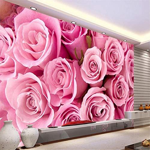 Preisvergleich Produktbild Xbwy 3D Wallpaper Home Dekoration Sofa Wohnzimmer Benutzerdefinierte Tapete Rose Fashion Fototapete Wandmalereien-200X140Cm