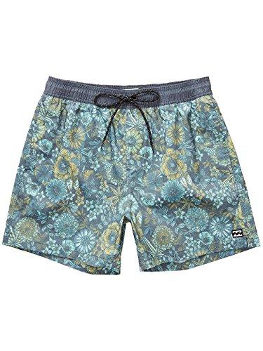 Billabong Herren Seasons Layback 15 Shorts dark slate
