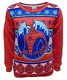 Marvel Spider-Man Ragazzi Natale Jumper Felpa (2-3 Anni)