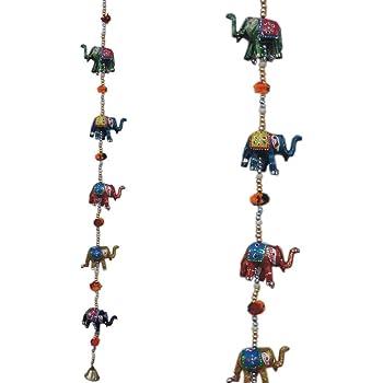 Buy Crafticia Elephant Line Pair Of 5 Piece 40 Inch Decorative Door