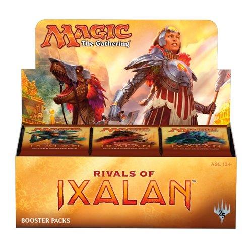 Magic the Gathering MTG-RIX-BD-EN Rivals of Ixalan Tauschkarten-Booster-Packung, 36 Pakete in Aufstellkarton (in englischer Sprache)