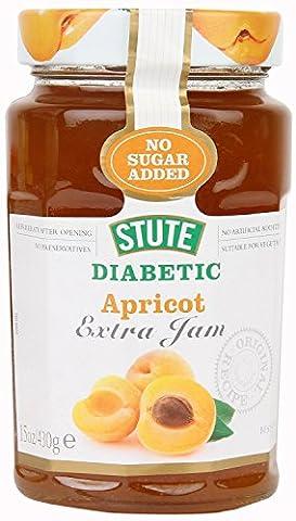 Stute Diabetic Apricot Extra Jam 430g