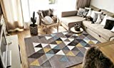 Tapis de salon scandinave - Collection ELLA - Couleur beige - Taille 120x170cm