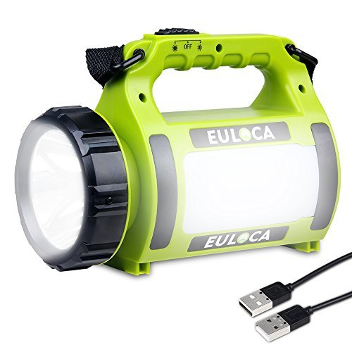 EULOCA Linterna LED Regarcable con 3 Modos