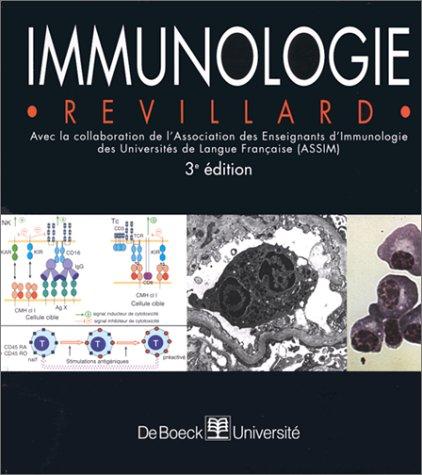 Immunologie, 3e édition par J.-P. Revillard