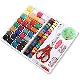 Foxnovo 100-en-1 essentiel à coudre outils Kit couture coffret pour Machine à coudre domestique