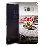 DeinDesign Samsung Galaxy S8 Hülle Premium Case Cover VfB Stuttgart Fanartikel Stadion