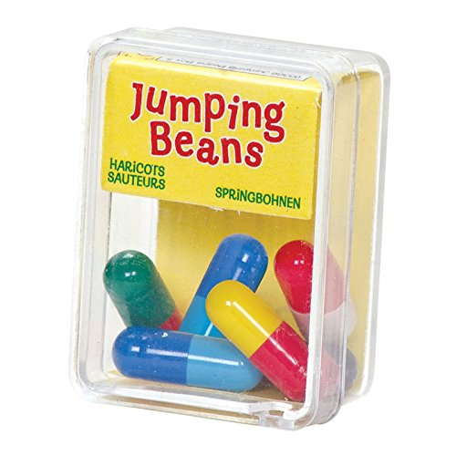 ASAB Box of 5 Mexican Jumping Beans Toy Game Kids Childrens Girl Boy Unisex Xmas Gift Party Bag Christmas Stocking Filler - 1 Pack