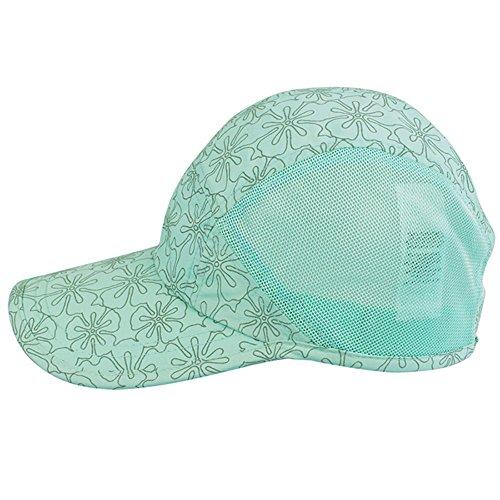 Kenmont filles garçons casquette de camionneur sportive légère casquette de baseball pomme bleue