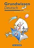 Sprachfreunde / Lesefreunde: 2.-4. Schuljahr - Grundwissen Deutsch: Schülerbuch