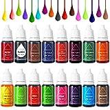 Colorante Alimentario Liquido Food Dye Coloring Set 16x11ml, Alta Concentración Líquido Set Para...