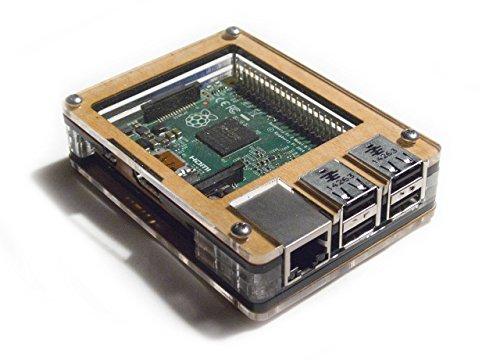 Zebra Case - Raspberry Pi B+ und 2B Gehäuse (Ahorn)