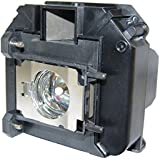 Lutema Replacement Bulb for Epson ELPLP68 Replacement Lamp PowerLite Home Cinema 3010 / 3010e 1080p 1080p 3LCD Projectors V13H010L68