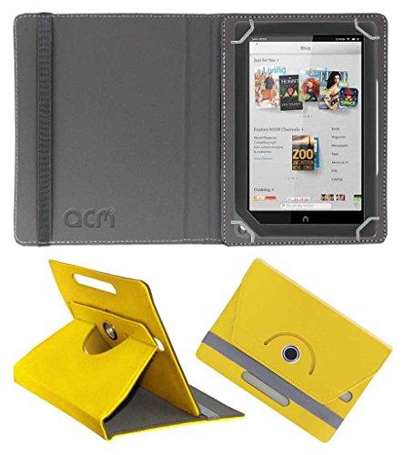 Acm Rotating Leather Flip Case for Barnes & Noble Nook Hd+ 9