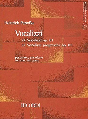 Vocalises Opp.81/85 +2CD - Cht/Po