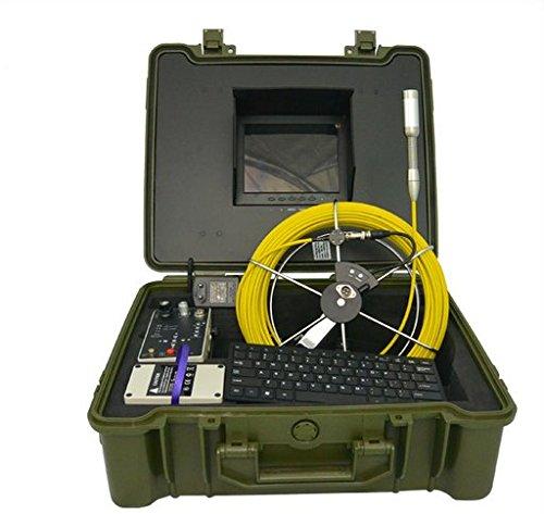 Gowe Unterwasser-Videokamera, Inspektion von Wasserpfeifen mit 23 mm Kamerakopf und 20 m Kabelsensor, Größe: 1/4 Zoll, horizontale Auflösung: 480 TVL, Signalsystem: PAL
