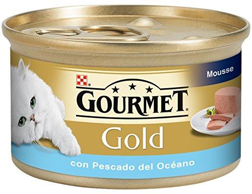 Gourmet - Gold Mousse con Pescado del océano, 85 g