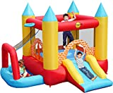 Childrens 4 in 1 play centre bouncy castle - ball pool - slide- basketball hoop in 1