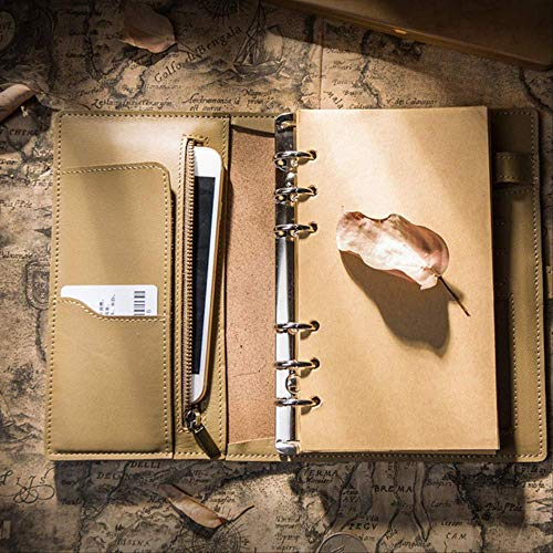 Notebook Wbdd Notebook Traveler Log Travel Planner A5 18,5x24cm verde oliva