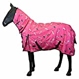 Horse Pony Winter Rain Stable Lightweight Havey Combo Turnout Heavyweight Combo Rugs Sizes Heavyweight Combo 4'6
