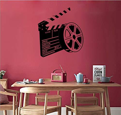 3D Wandaufkleber Neue Film Film Aufkleber Persönlichkeit Kreative Entfernbare Wandaufkleber Schlafzimmer Dekoration Malerei 58X63 Cm