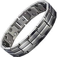 Magnettherapie-Armband Titan für Männer – groß, XL, klein – Armband zur Schmerzlinderung Gesundheitsarmband für... preisvergleich bei billige-tabletten.eu