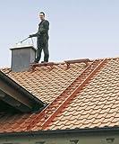 ZARGES Dachleiter 4,2 m Alu natur 15 Sprossen Z300