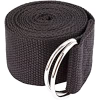 iiniim Unisex Cintura Cinghia Portatile con D-ring per Yoga Gamba