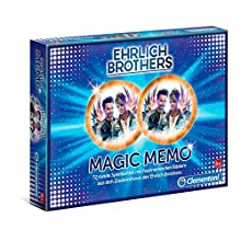 Clementoni 59179 Ehrlich Brothers Magic Memo Jeu