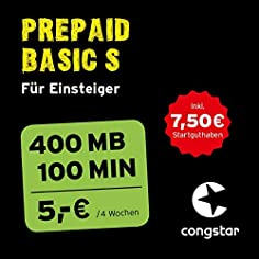 congstar Prepaid Basic S...
